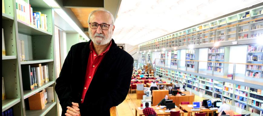 Juan Sánchez, director de la Biblioteca de CLM.
