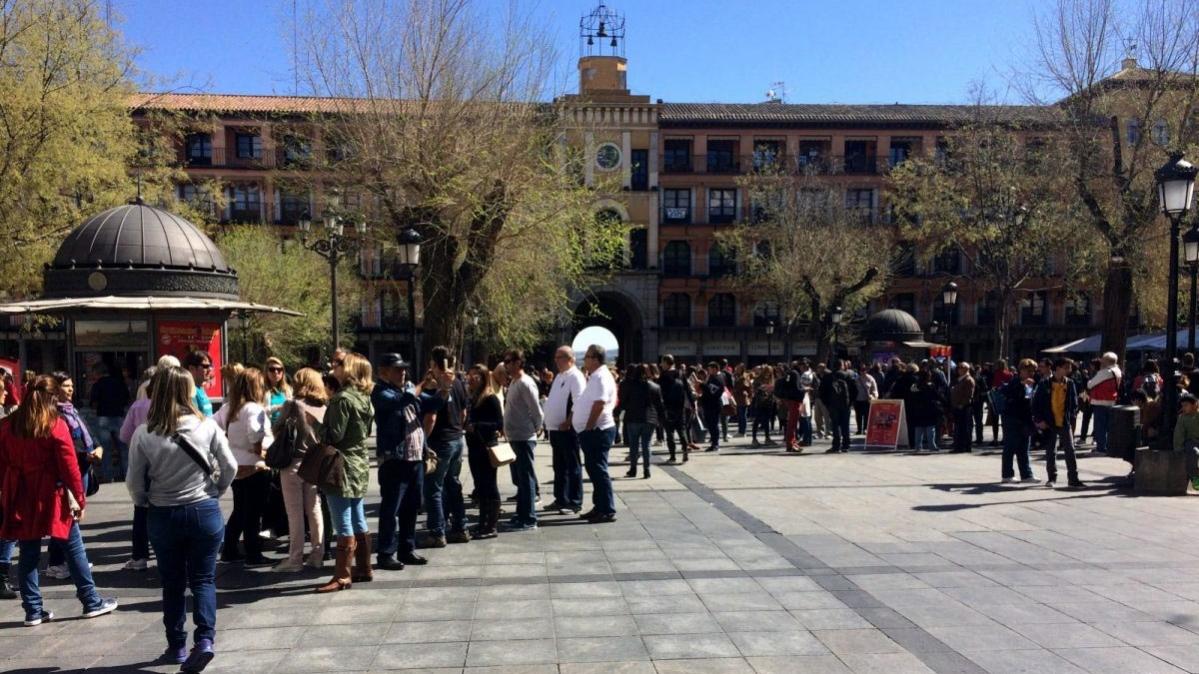 Toledo registr un 90 por 100 de ocupaci n hotelera en el for Oficina turismo toledo
