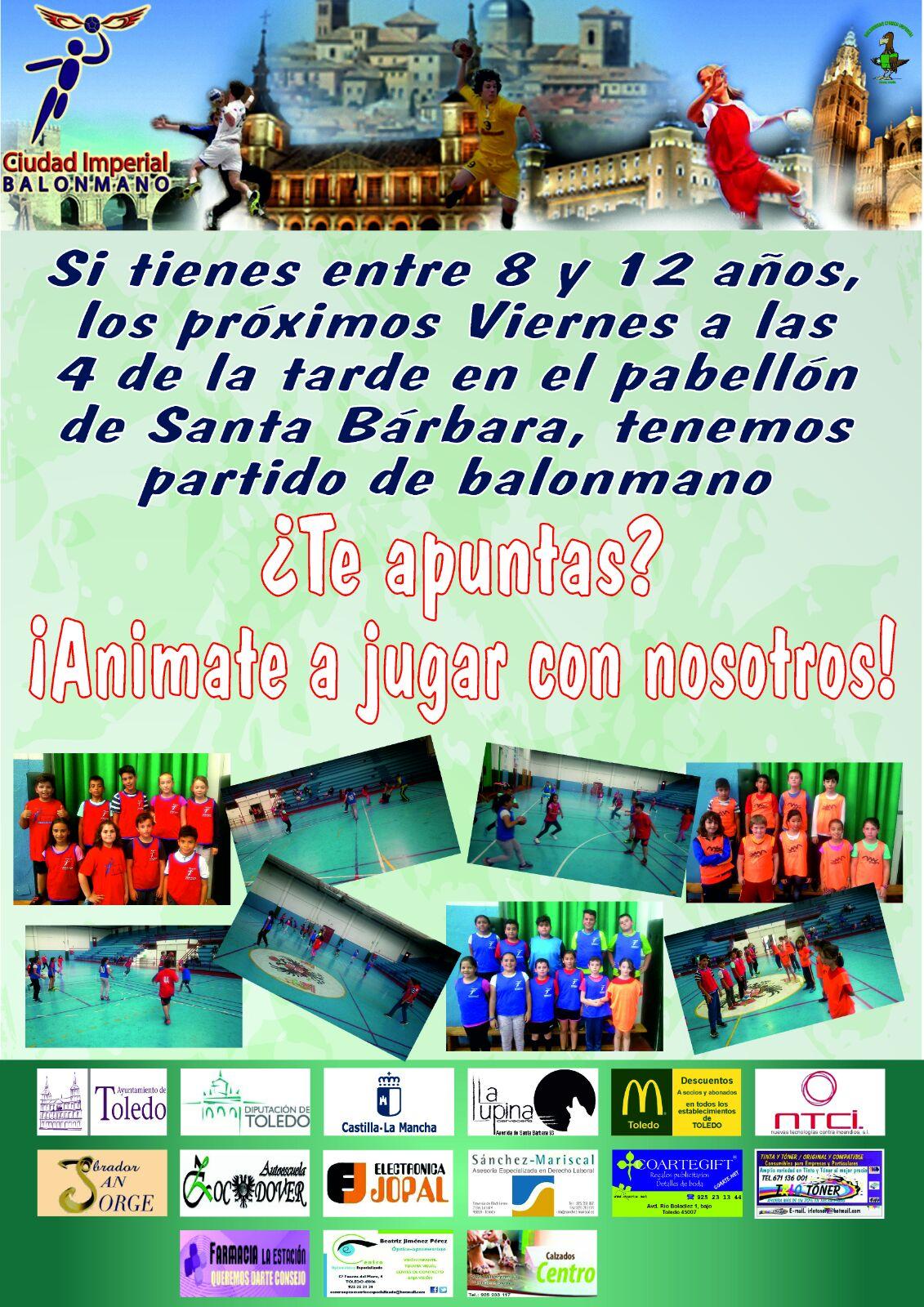 El club de balonmano Ciudad Imperial de Toledo busca nuevos talentos ...