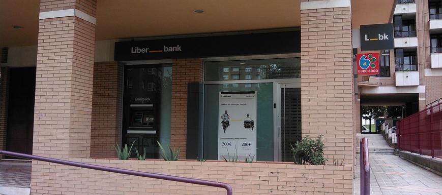 Foto de archivo de una sucursal de Liberbank