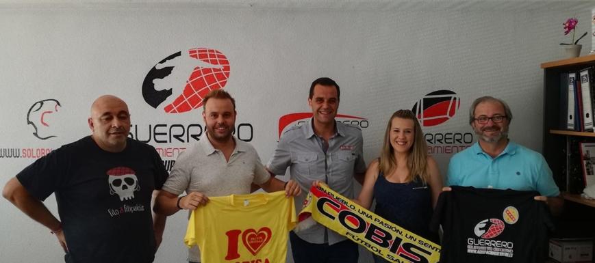 Tras la firma del convenio entre el Cobisa FS y Agrupación Guerrero