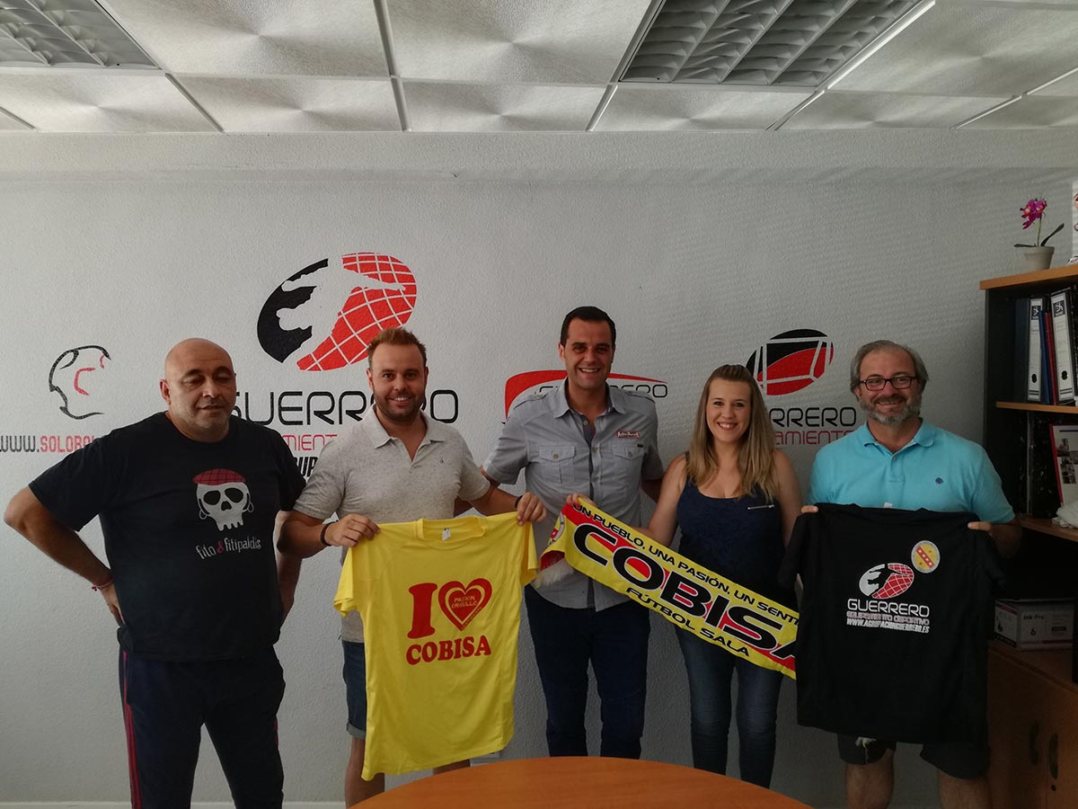 e3d2c3090 Agrupación Guerrero da un salto más en su apoyo al Cobisa FS pasando a ser  su sponsor principal - ENCLM