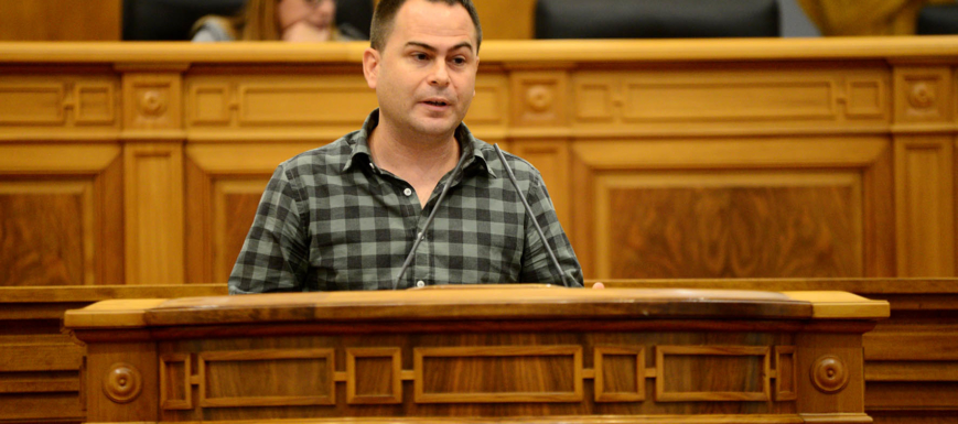 David Lorente, diputado de Podemos en las Cortes de CLM