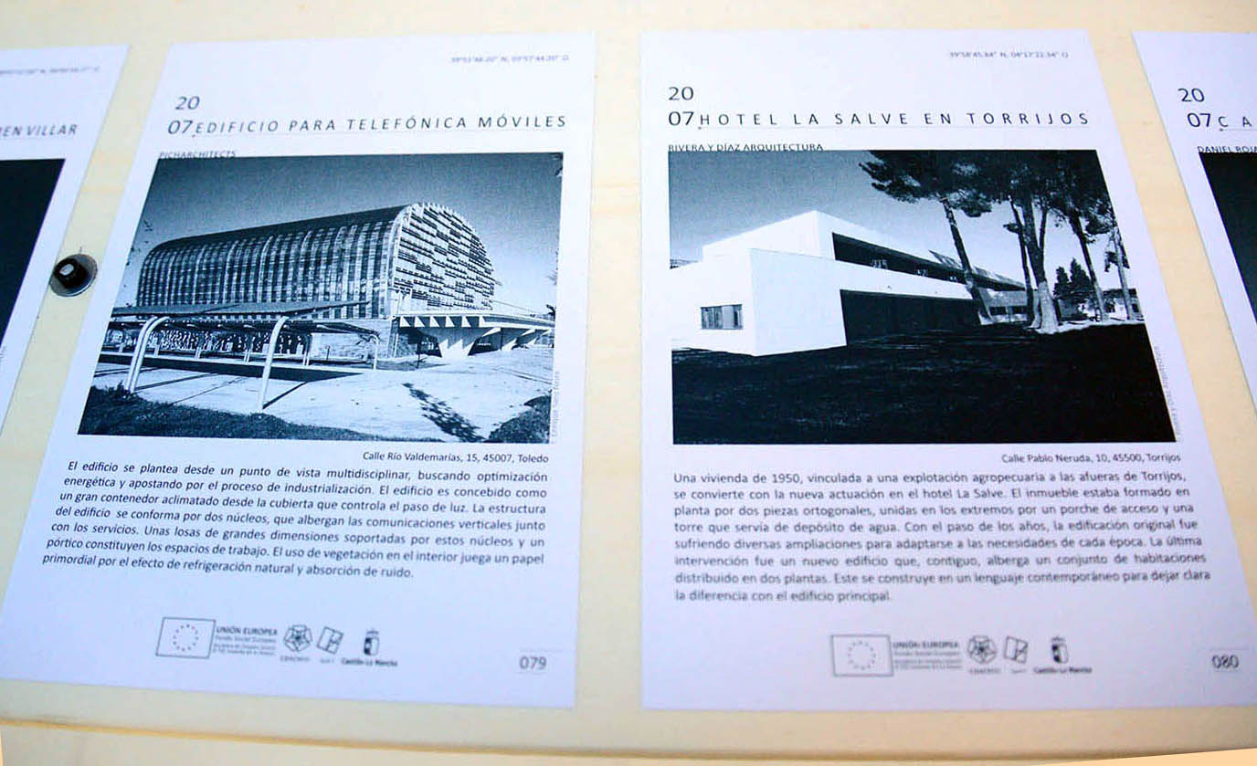 La arquitectura contempor nea de toledo contada por arquitectos as son las rutas enclm - Colegio arquitectos toledo ...