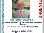 Más de 100 personas buscan a un anciano de 75 años en un Suzuki Vitara desaparecido en Laguna del Marquesado