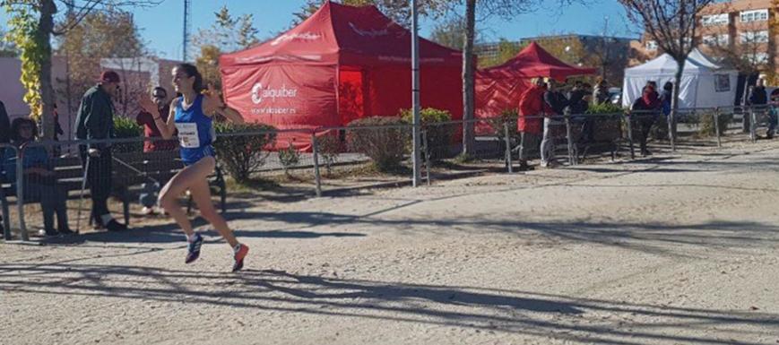Nuria Lozano se clasificó para el Europeo siendo tercera en el Cross de Alcobendas