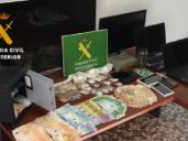 Tres detenidos por vender marihuana y cocaína cerca de dos centros escolares en Villamalea (Albacete)