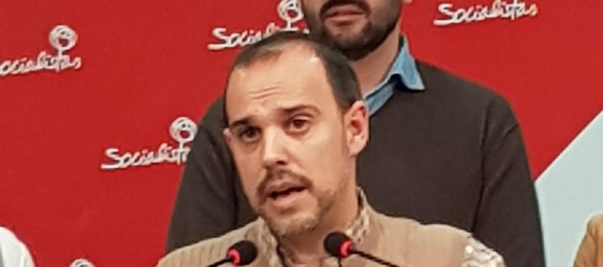 Pablo Bellido, tras vencer en las primarias del PSOE de Guadalajara