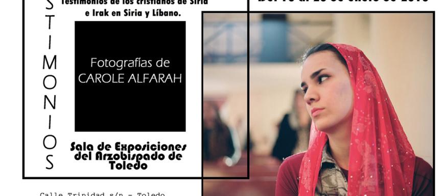 Exposición de Cáritas Toledo.