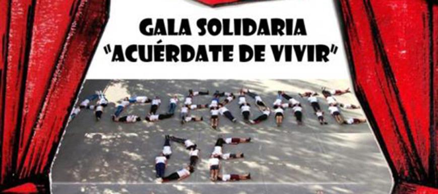 Cartel Gala Acuérdate de Vivir de Talavera.
