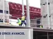Detalle del vídeo de Sanidad sobre las obras del Hospital de Toledo