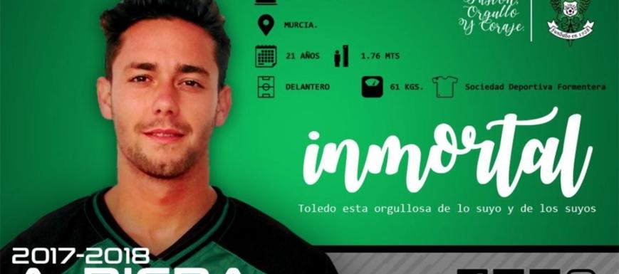 Riera ya es nuevo jugador del Toledo hasta el final de temporada