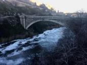 Una pesadilla: el Tajo a su paso por Toledo lleva más suciedad que nunca