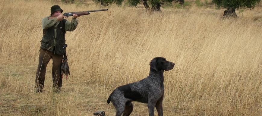 Los hombres cazaban ilegalmente