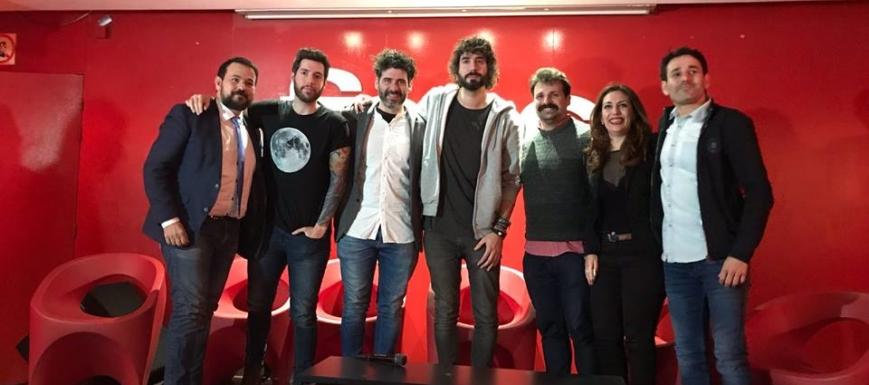 Juan Ramón Amores en la presentación del Festival de los Sentidos