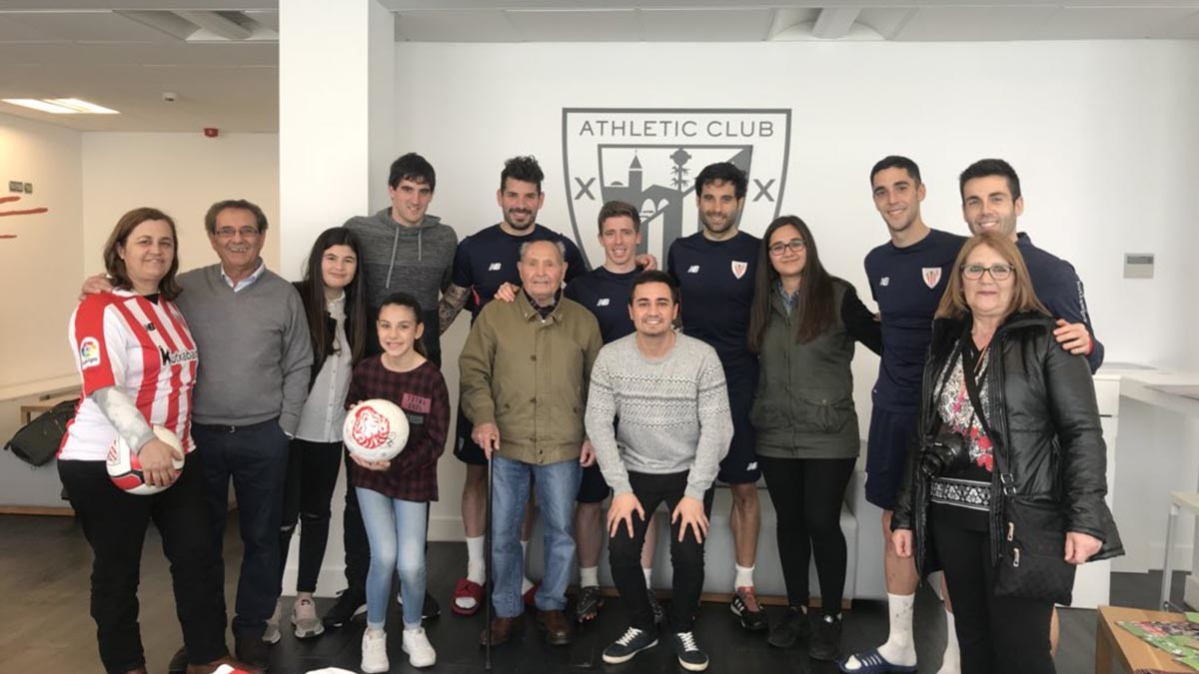 Marcos Torres vio al Athletic, conoció a \
