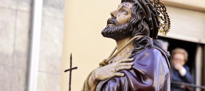 Ecce Homo, de la Semana Santa de Cuenca