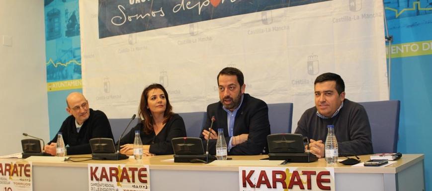 Presentación de la candidatura a Ciudad Europea del Deporte y del Regional de kárate en Torrijos