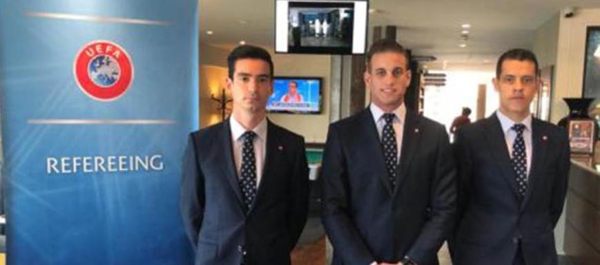 Javier Alberola será árbitro UEFA