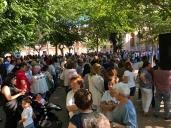 Cientos de personas de Mora muestran su repulsa a la agresión que sufrió un médico vecino del pueblo