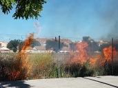 El calor se estrena con dos incendios forestales en Talavera y otro en la Vega Baja de Toledo