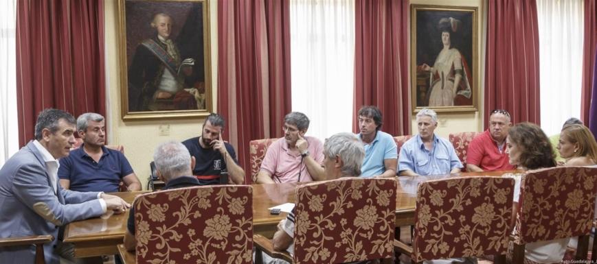 Antonio Román, alcalde de Guadalajara, ha dado a conocer el acuerdo de la RPT