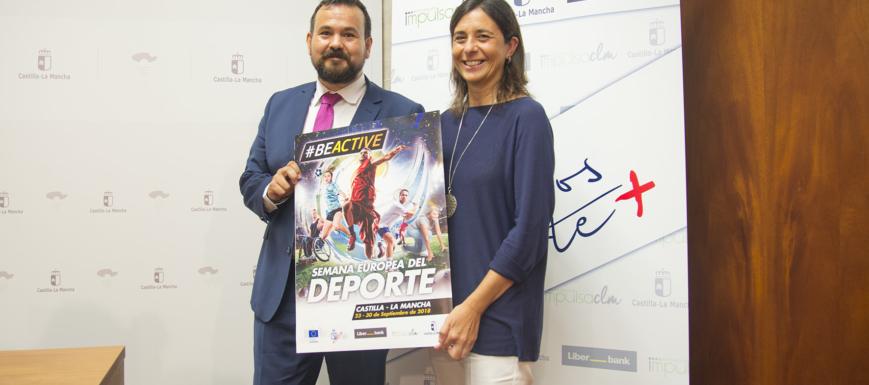 Amores ha presentado la Semana Europea del Deporte