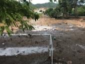 Las fotos de las riadas en Cuenca y Guadalajara, ¡el agua llegó hasta el travesaño de una portería!