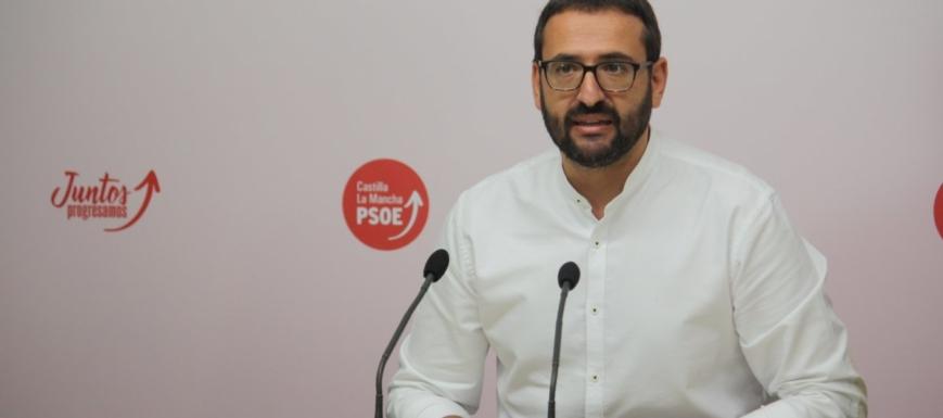 Sergio Gutiérrez es muy optimista con las posibilidades del PSOE