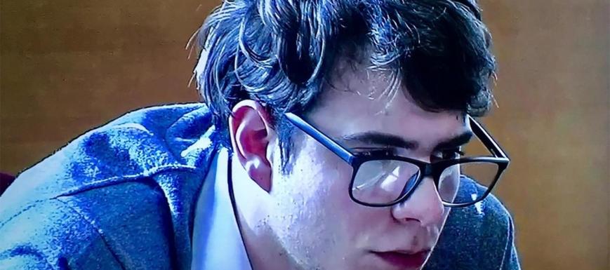 Patrick Nogueira, asesino confeso del parricidio de Pioz
