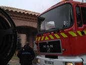 Dos varones afectados por inhalación de humo en incendio de su casa en Toledo