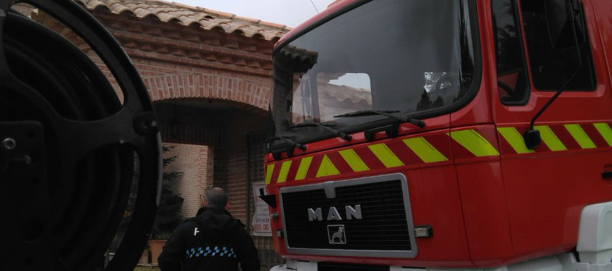 Incendio en una vivienda en Toledo