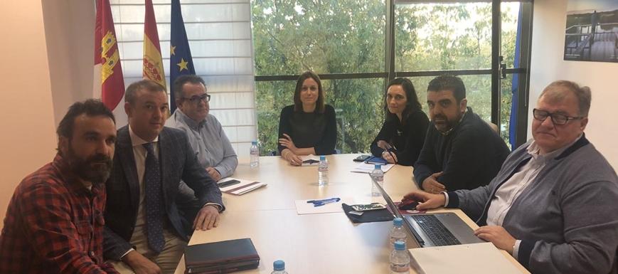 Reunión de la Junta con los hosteleros toledanos