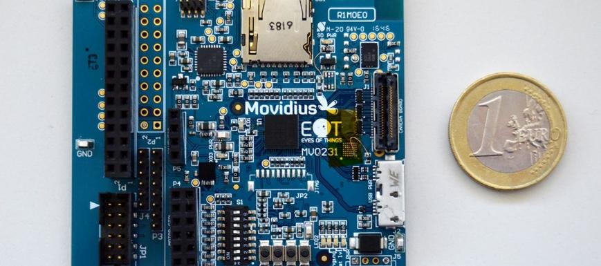 Detalle del proyecto Eyes of Things, de visión por computador
