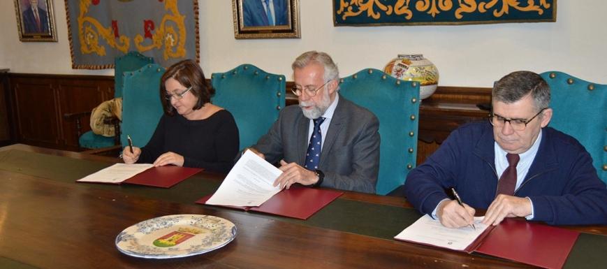 Ramos ha anunciado la compra por el Ayuntamiento de las islas del Tajo