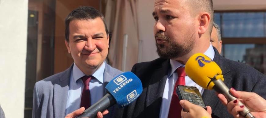 Juan Ramón Amores y Martínez Arroyo en La Roda