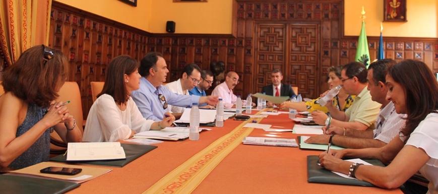 Foto de archivo de la Junta de Gobierno de la Diputación de Toledo