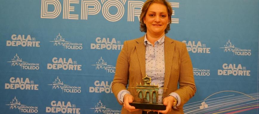 María Ángeles García informó de los Premios, entre ellos a Sandra Sánchez y a la ECEF