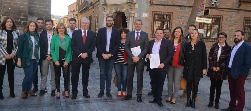 El PSOE presentó las candidaturas en la Junta Electoral Provincial