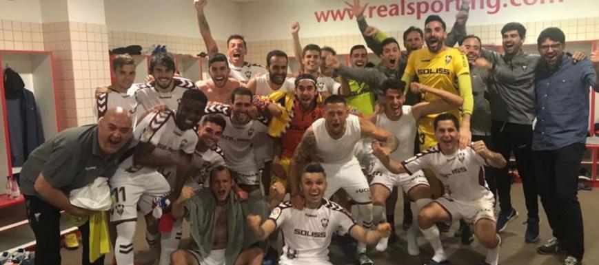 La alegría del Albacete