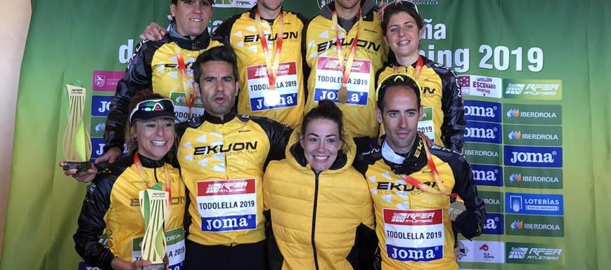 Los dobles campeones del Ekuon El Conchel Sport Team