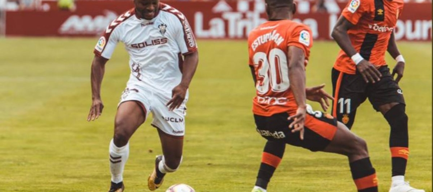 Jeremie Bela abrió la lata para el Albacete, pero fue insuficiente