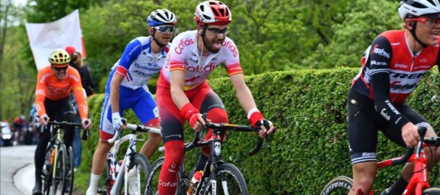 Jesús Herrada, ganador de la Vuelta a Luxemburgo