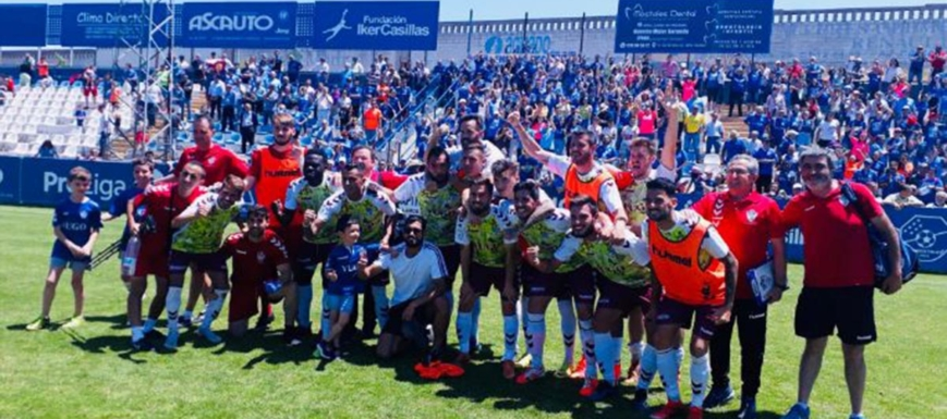 El Yugo Socuéllamos, celebrando la victoria