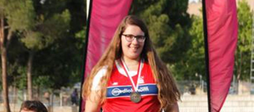 Alba Martínez, oro en peso en el Regional absoluto