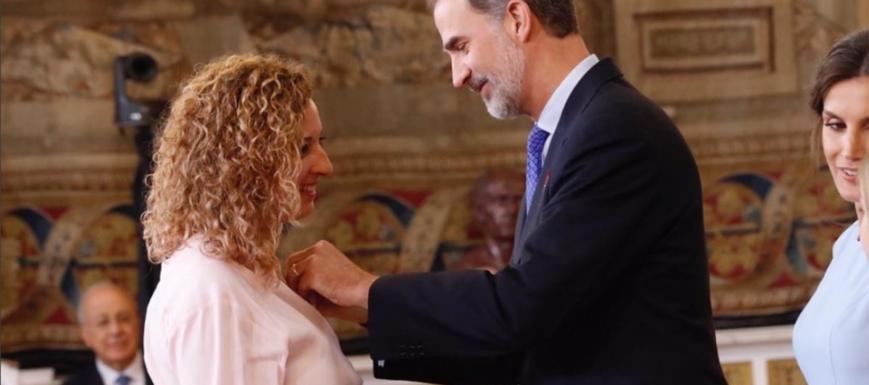 La toledana María Eugenia González Barderas, Orden del Mérito Civil