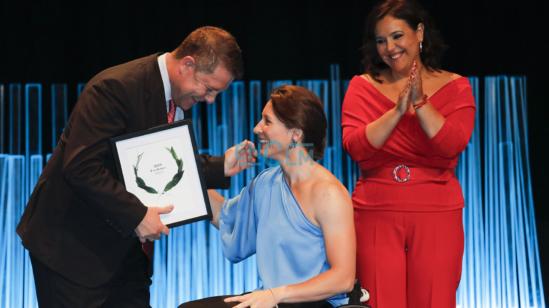 Isabel Fernández, premio