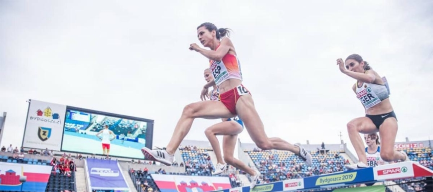 Irene Sánchez-Escribano, en su prueba preferida, los 3.000 metros obstáculos