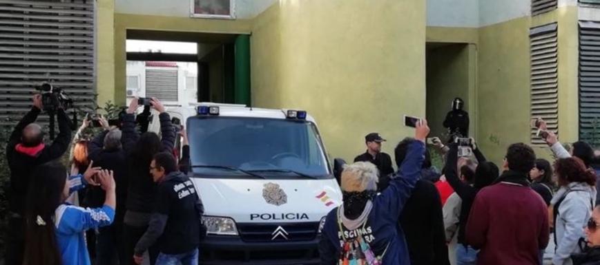 Valtonyc apoyará a los denunciados por oponerse a un desahucio en Guadalajara