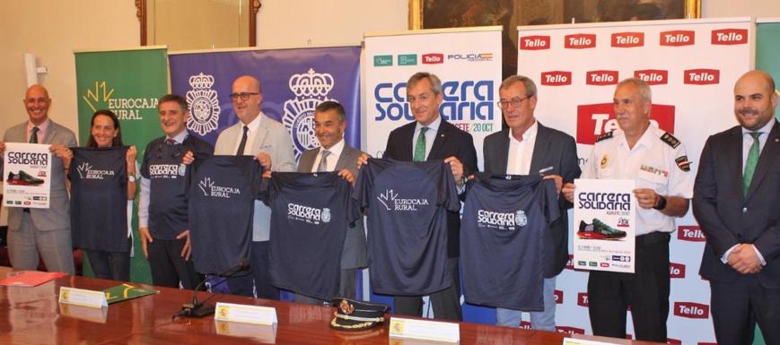 Acto de presentación de la Carrera Solidaria que se celebra en Albacete